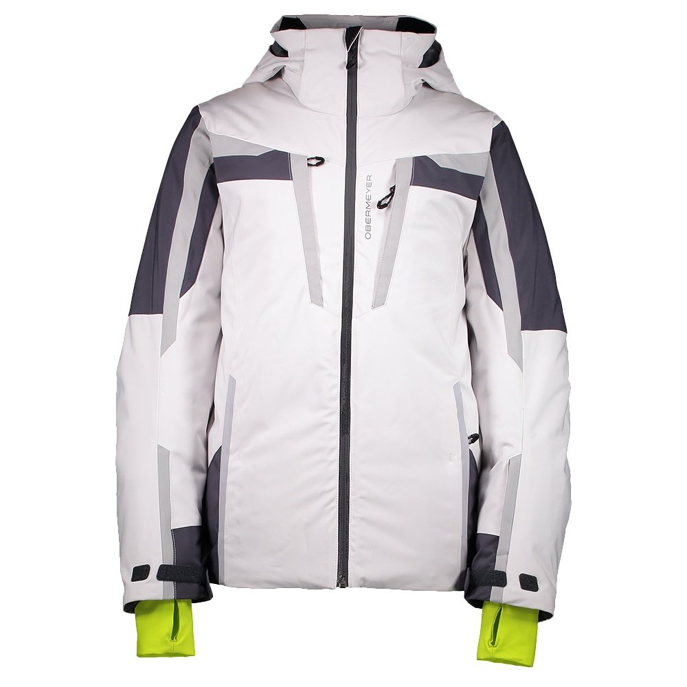 Obermeyer Mach 9 Insulated Ski Jacket (Boys') - Fog