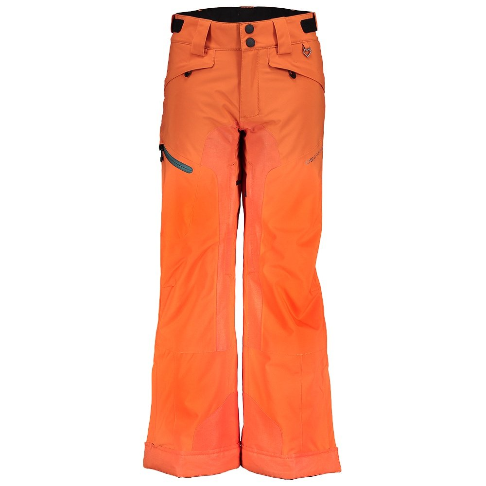 Obermeyer Parker Insulated Ski Pant (Boys') - Red Rock