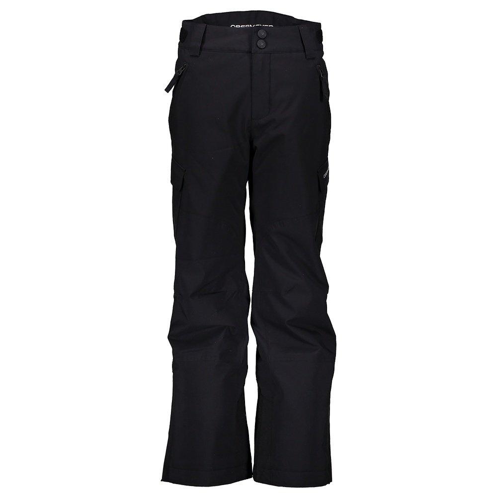 Obermeyer Alpinist Stretch Insulated Ski Pant (Boys') - Black