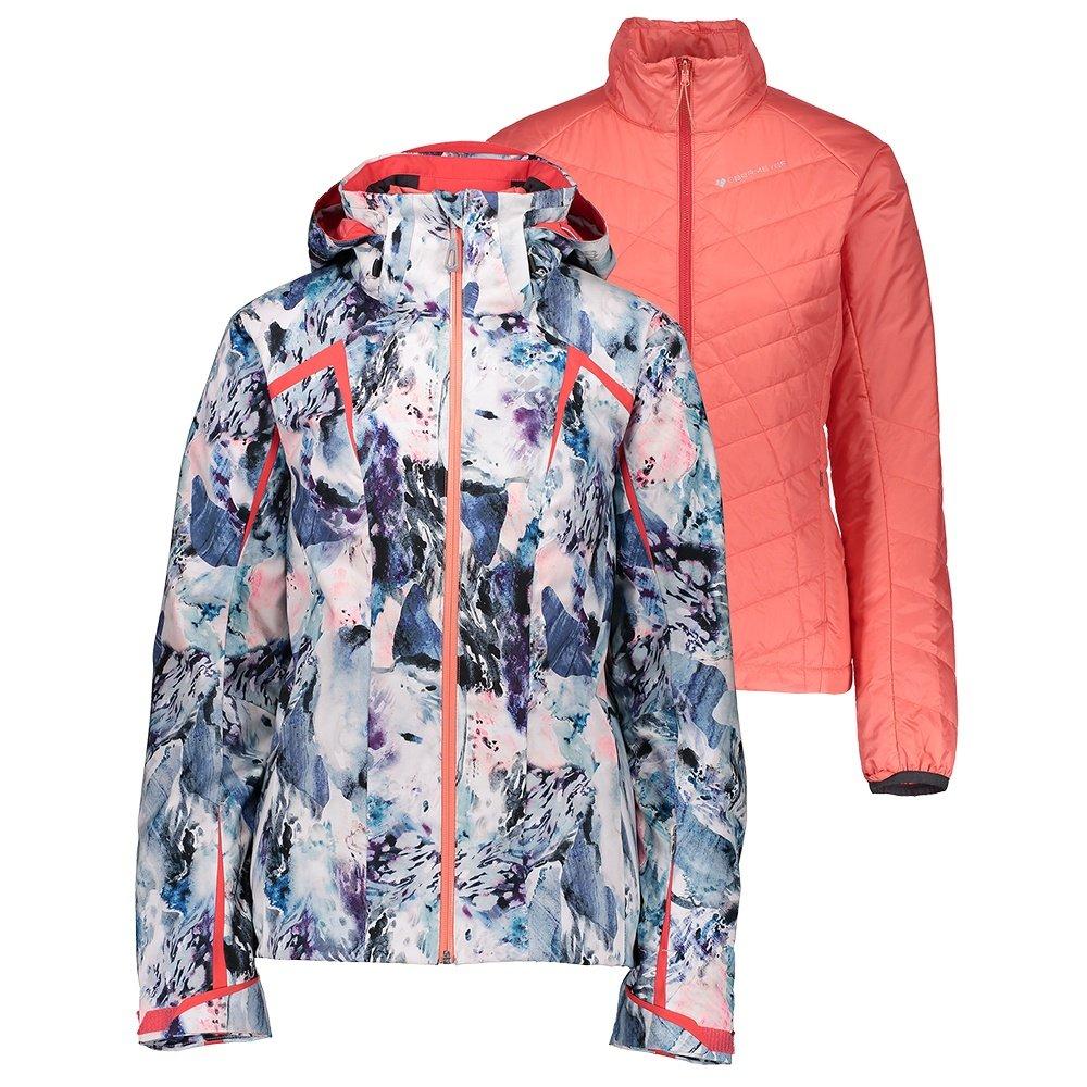 Obermeyer Apricity System Ski Jacket (Women's) - Oblivion Print