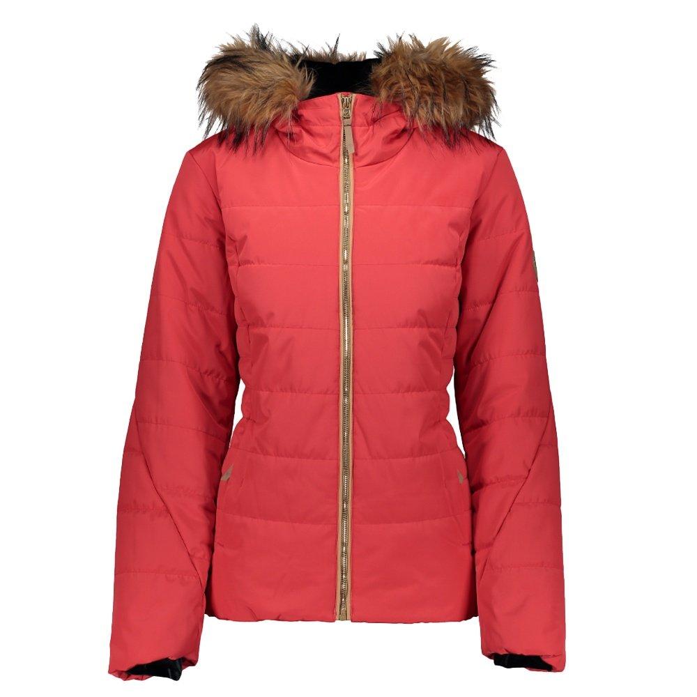 Obermeyer Beau Insulated Ski Jacket (Women's) - Pop Pop Poppy