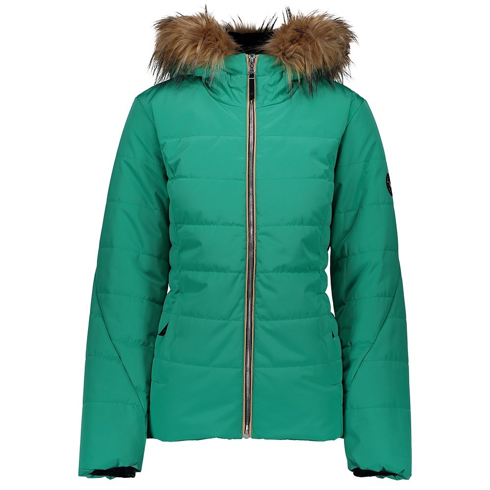 Obermeyer Beau Insulated Ski Jacket (Women's) - Green #7