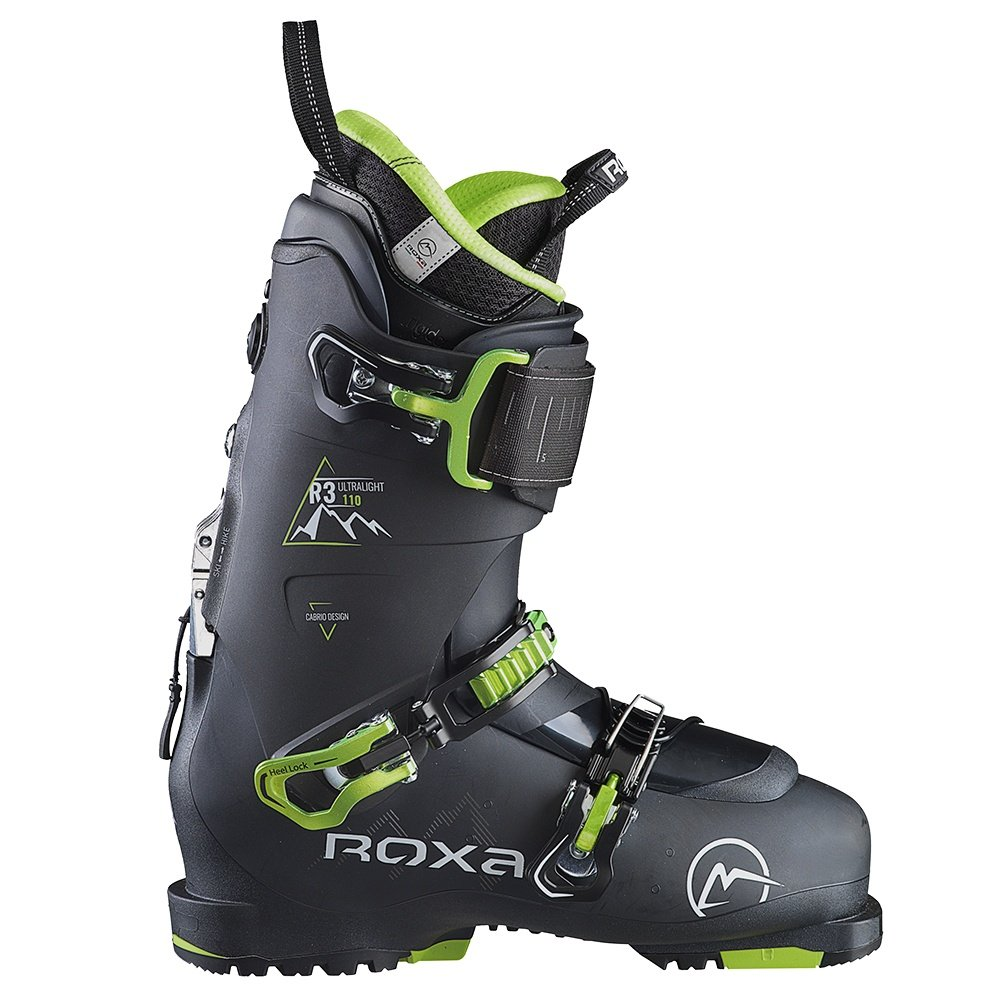 Roxa R3 110 Ski Boot (Men's) - Black/lime