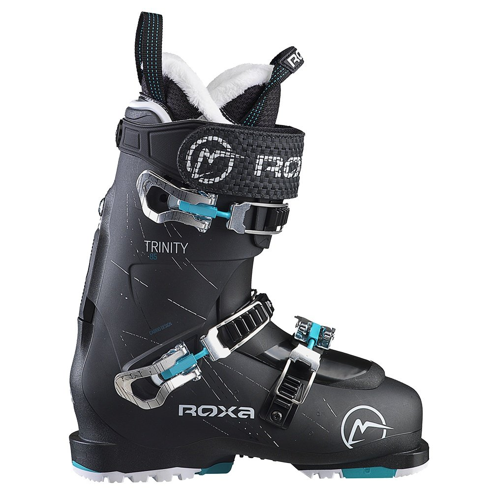 Roxa Trinity Ski Boot (Women's) - Black/White/Black