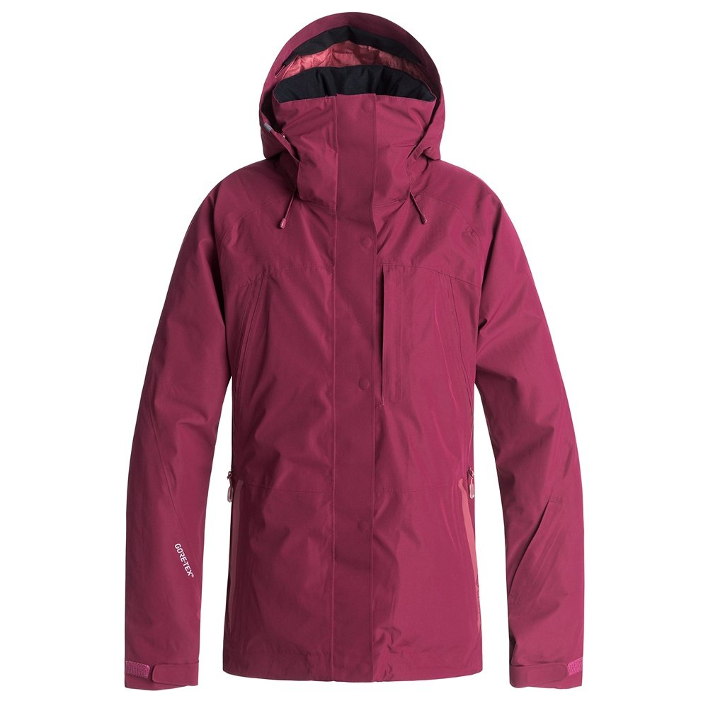 Roxy Wilder 2L GORE-TEX Insulated Snowboard Jacket (Women's) - Beet Red