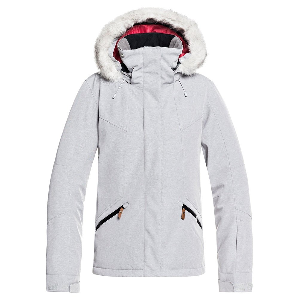 Roxy Atmosphere Insulated Snowboard Jacket (Women's) - Warm Heather Grey