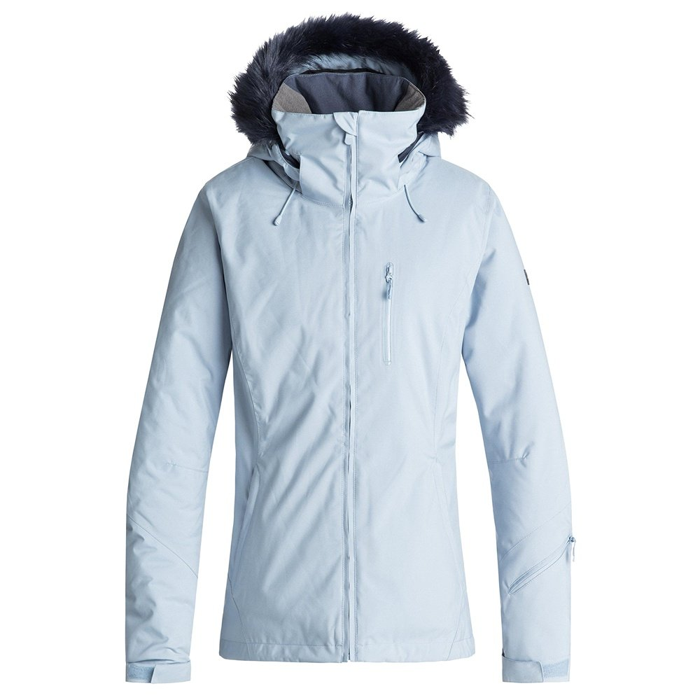 Roxy Down The Line Insulated Snowboard Jacket (Women's) - Powder Blue