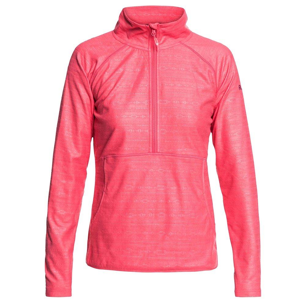 Roxy Cascade 1/2-Zip Fleece Mid-Layer (Women's) - Tea Berry/Wave Gradient