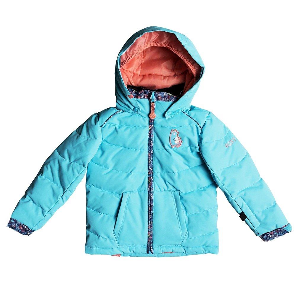 Roxy Anna Insulated Snowboard Jacket (Little Girls') - Bachelor Button