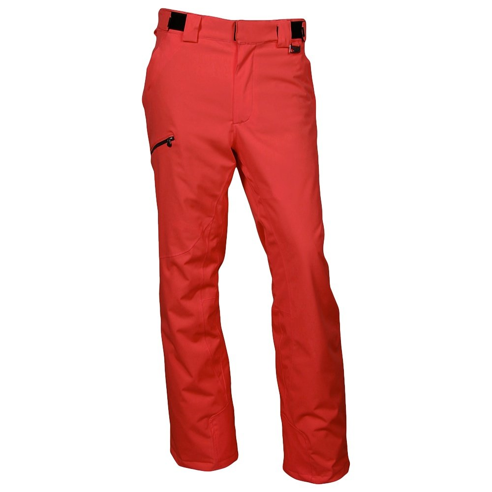Karbon Silver Insulated Ski Pant (Men's) - Red/Black