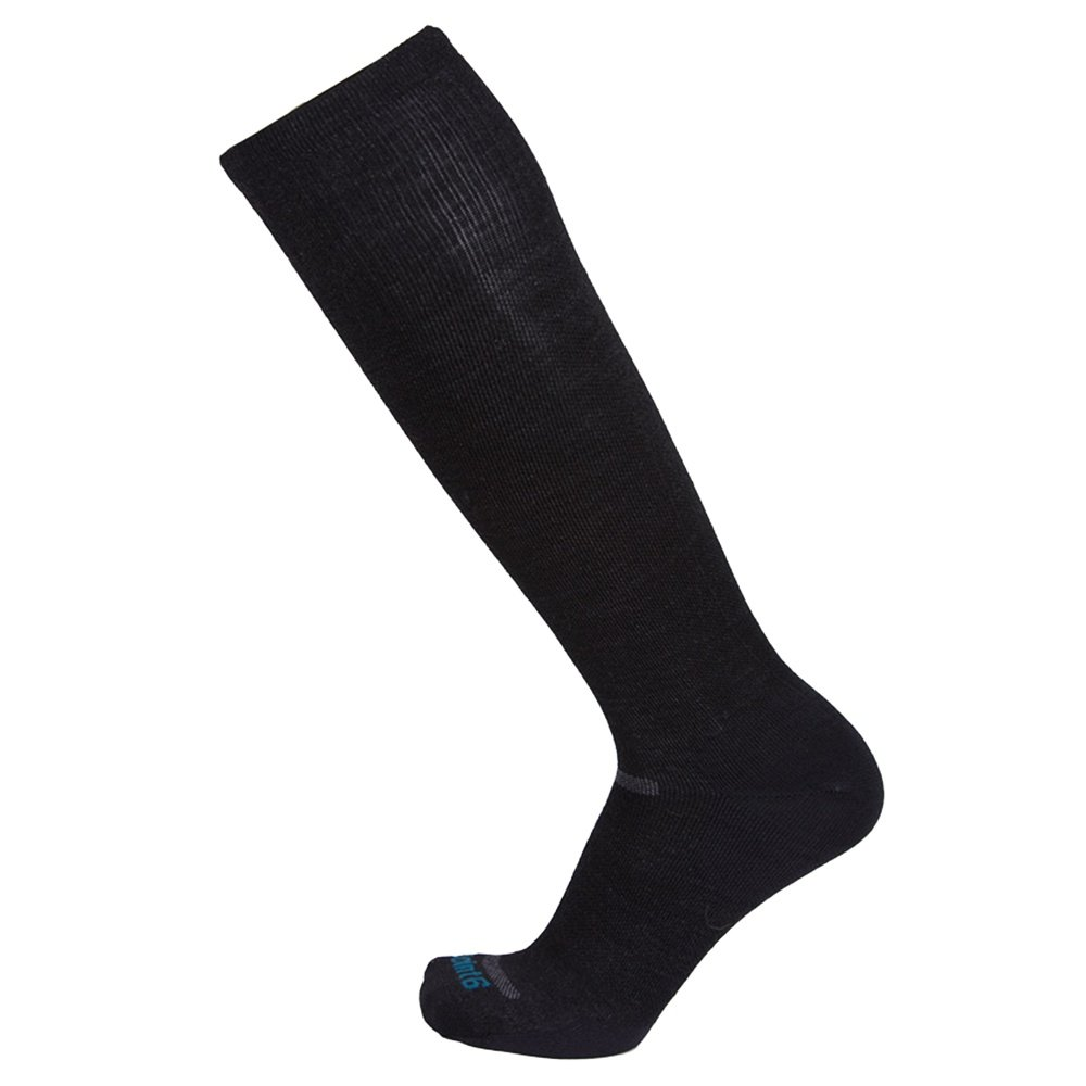 Point6 Compression Ultra Light Ski Sock (Adults') - Black