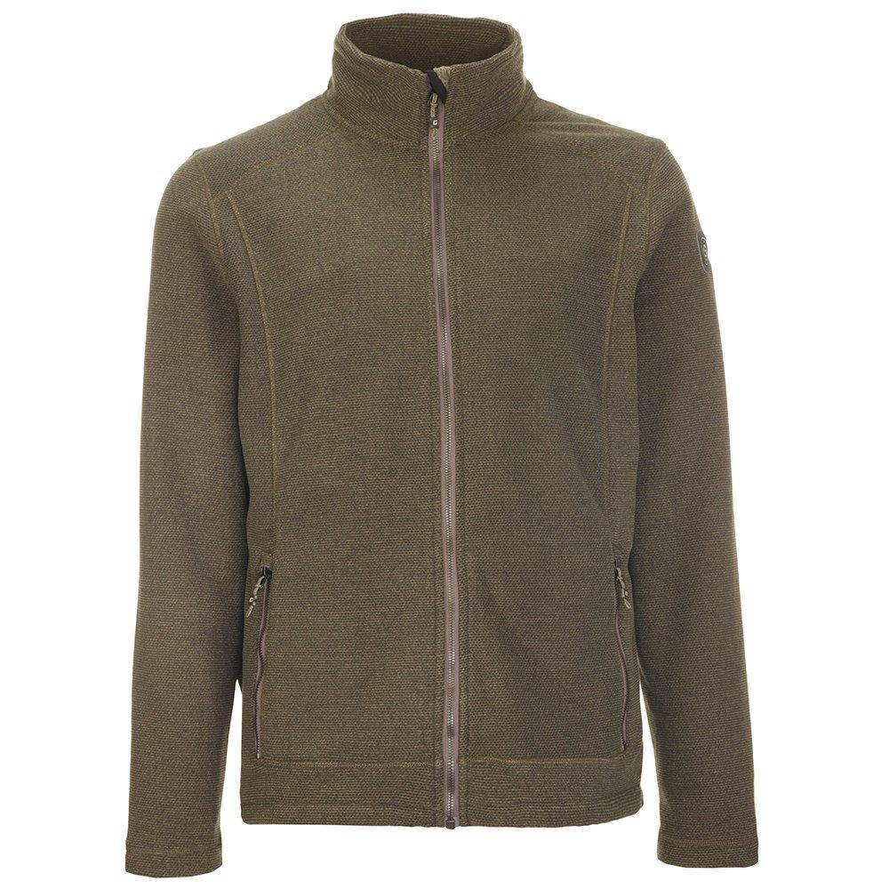 Killtec Thedo Knitted Fleece Jacket (Men's) - Olive