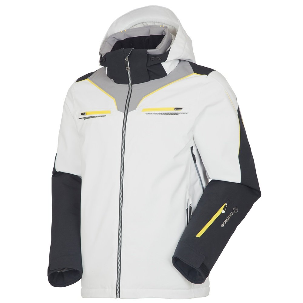 Sunice Elite Insulated Ski Jacket (Men's) - White
