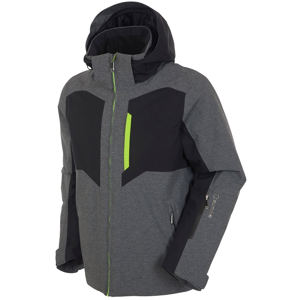 Sunice Fuel Insulated Ski Jacket (Men's) - Dark Grey Melange