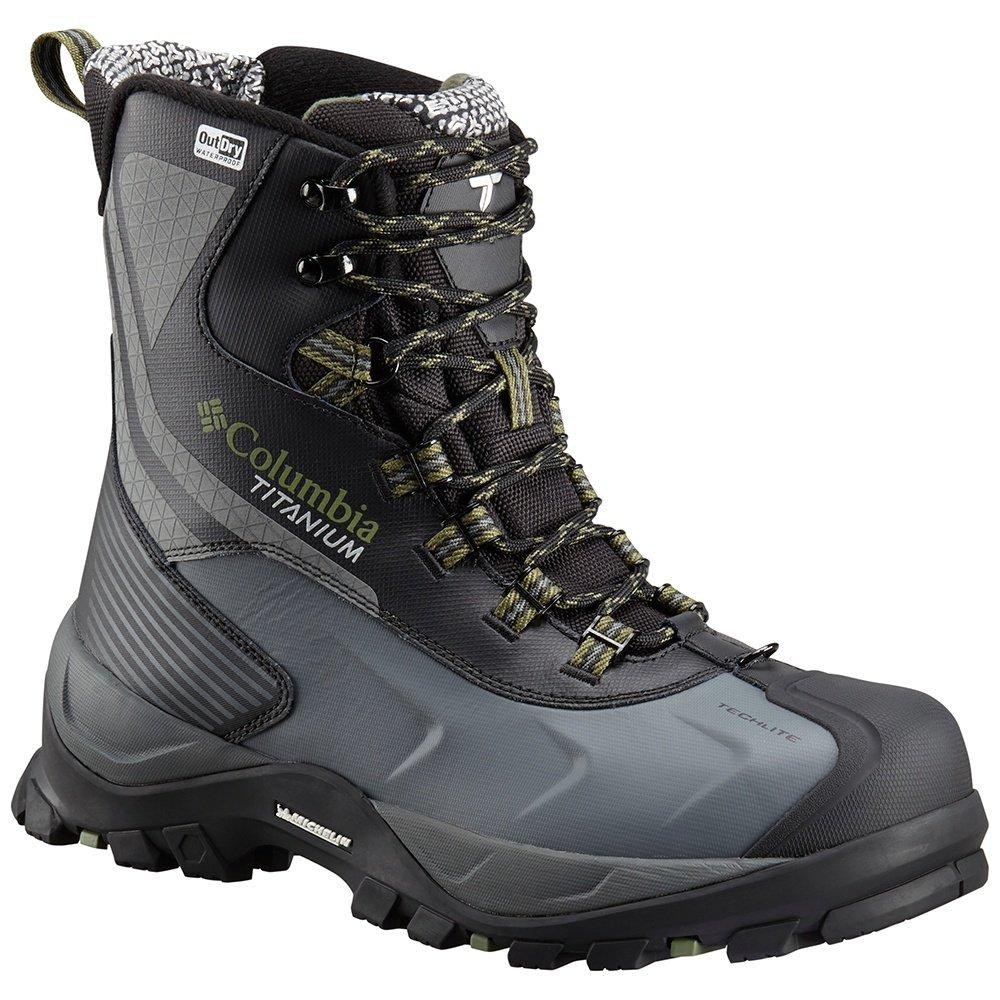 Columbia Powderhouse Titanium Omni-Heat 3D Outdry Boot (Men's) - Black/Mosstone