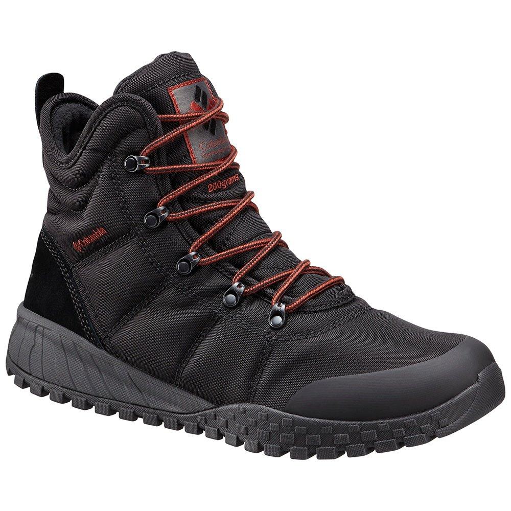 Columbia Fairbanks Omni-Heat Boot (Men's) - Black/Rusty