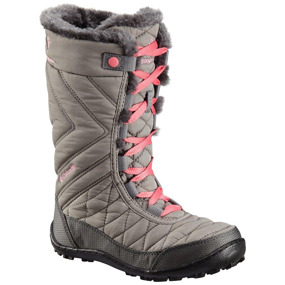 Columbia Minx Mid III Omni-Heat Waterproof Boot (Girls') - Stratus/Camellia Rose