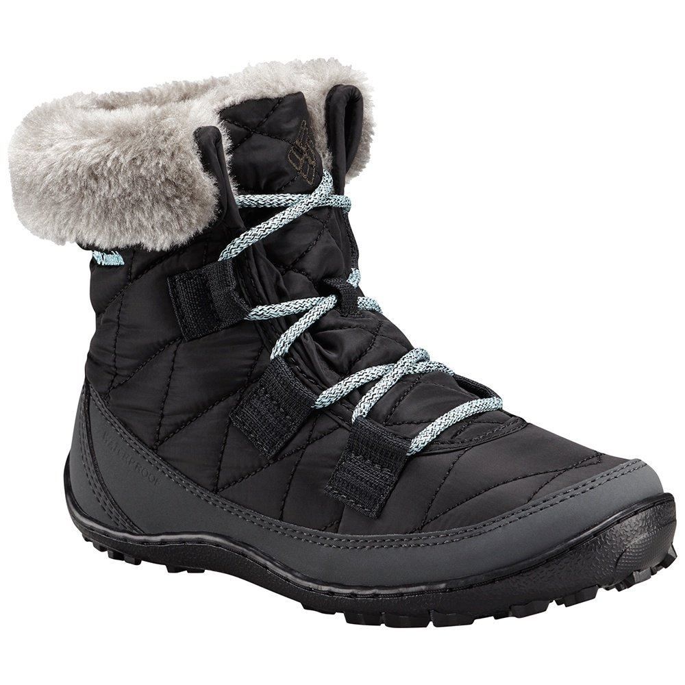 Columbia Minx Shorty Omni-Heat Waterproof Boot (Girls') - Black