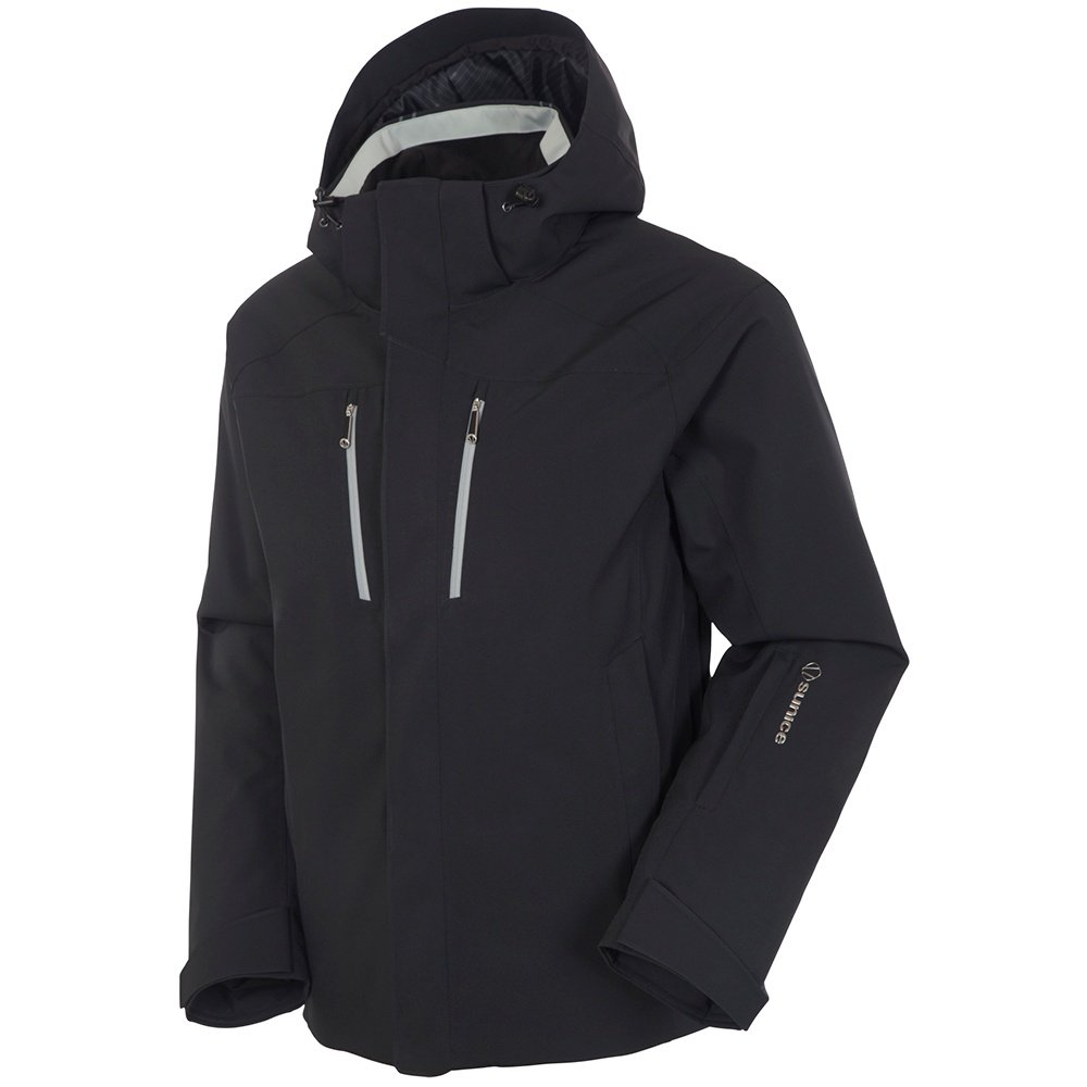 Sunice Vibe Insulated Ski Jacket (Men's) - Black