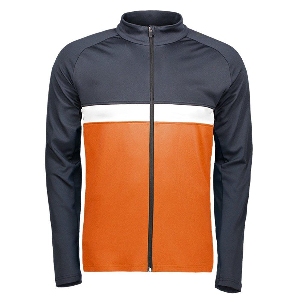 Capranea Clint Fleece Mid-Layer Jacket (Men's) - Vermillion Orange