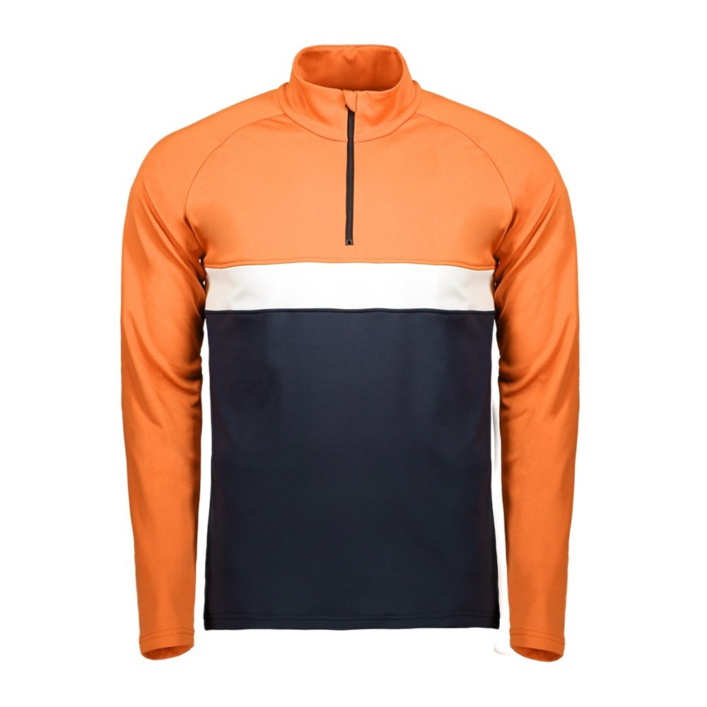 Capranea Skin Shirt Mid-Layer (Men's) - Vermillion Orange