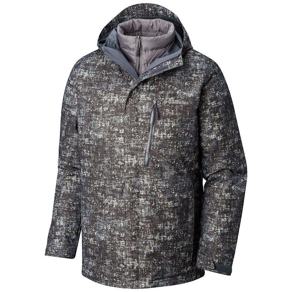 Columbia Whirlbird III Interchange Tall Insulated Ski Jacket (Men's) - Graphite Mesh Breakup