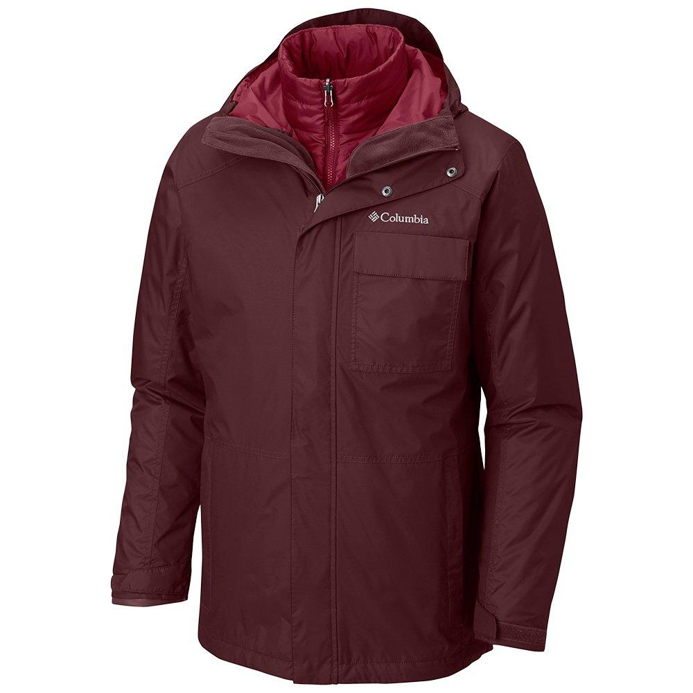 Columbia Ten Falls Interchangeable 3-in-1 Insulated Ski Jacket (Men's) - Elderberry