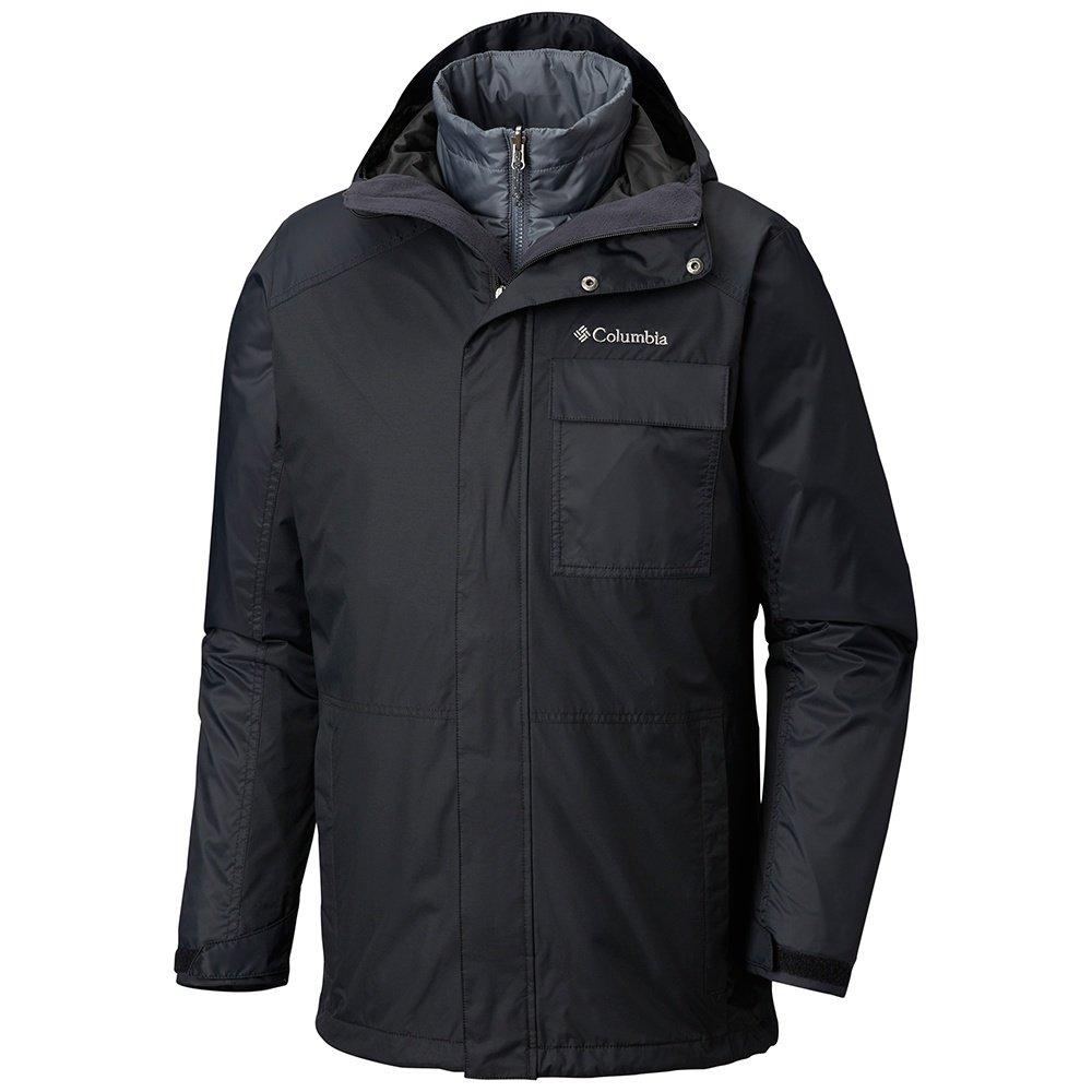 Columbia Ten Falls Interchangeable 3-in-1 Big Insulated Ski Jacket (Men's) -