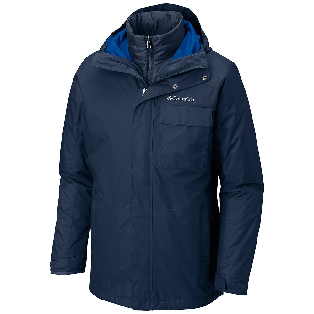 Columbia Ten Falls Interchangeable 3-in-1 Big Insulated Ski Jacket (Men's) - Collegiate Navy