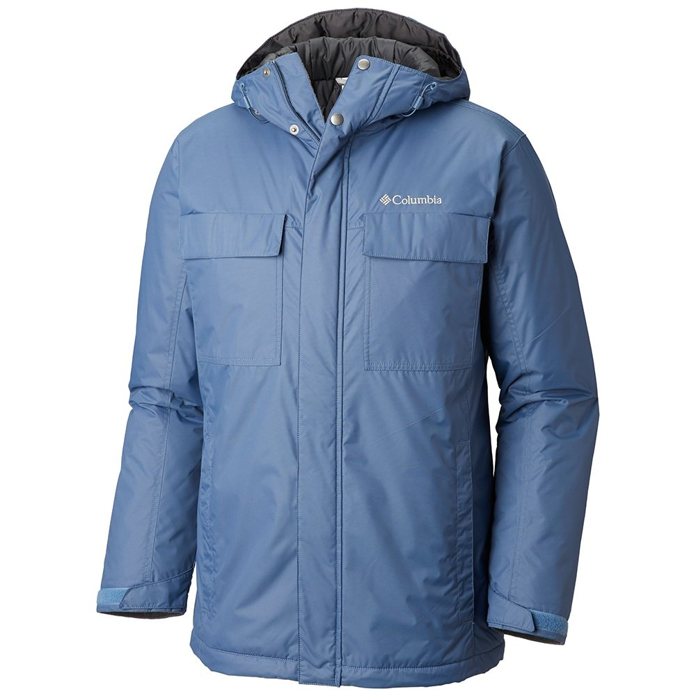 Columbia Ten Falls Tall Insulated Ski Jacket (Men's) - Dark Mountain