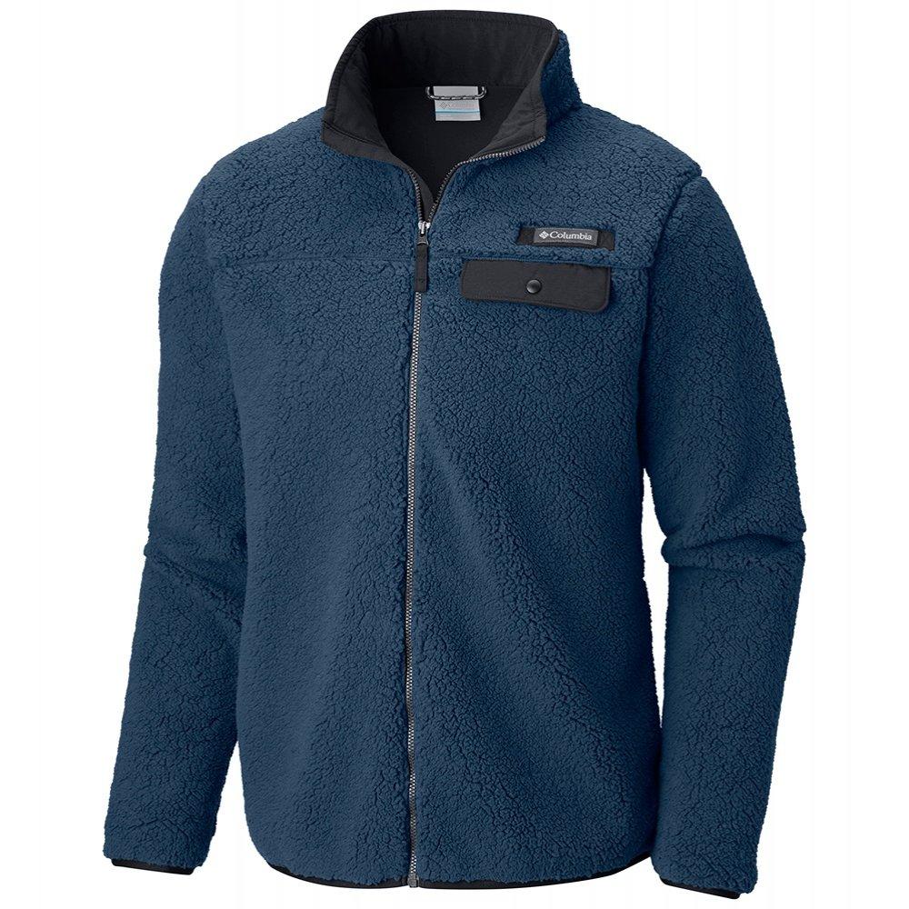 Columbia Mountain Side Heavyweight Fleece Full Zip Mid-Layer (Men's) - Dark Mountain