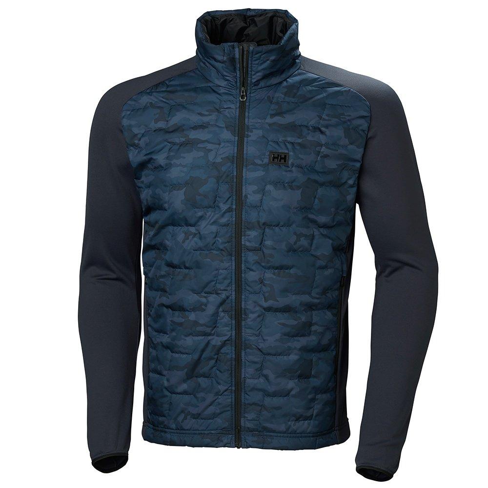 Helly Hansen Lifa Loft Hybrid Insulator Ski Jacket (Men's) - Graphite Blue