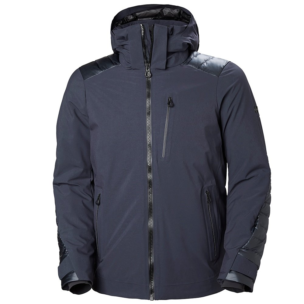 Helly Hansen Slingshot Insulated Ski Jacket (Men's) - Graphite Blue