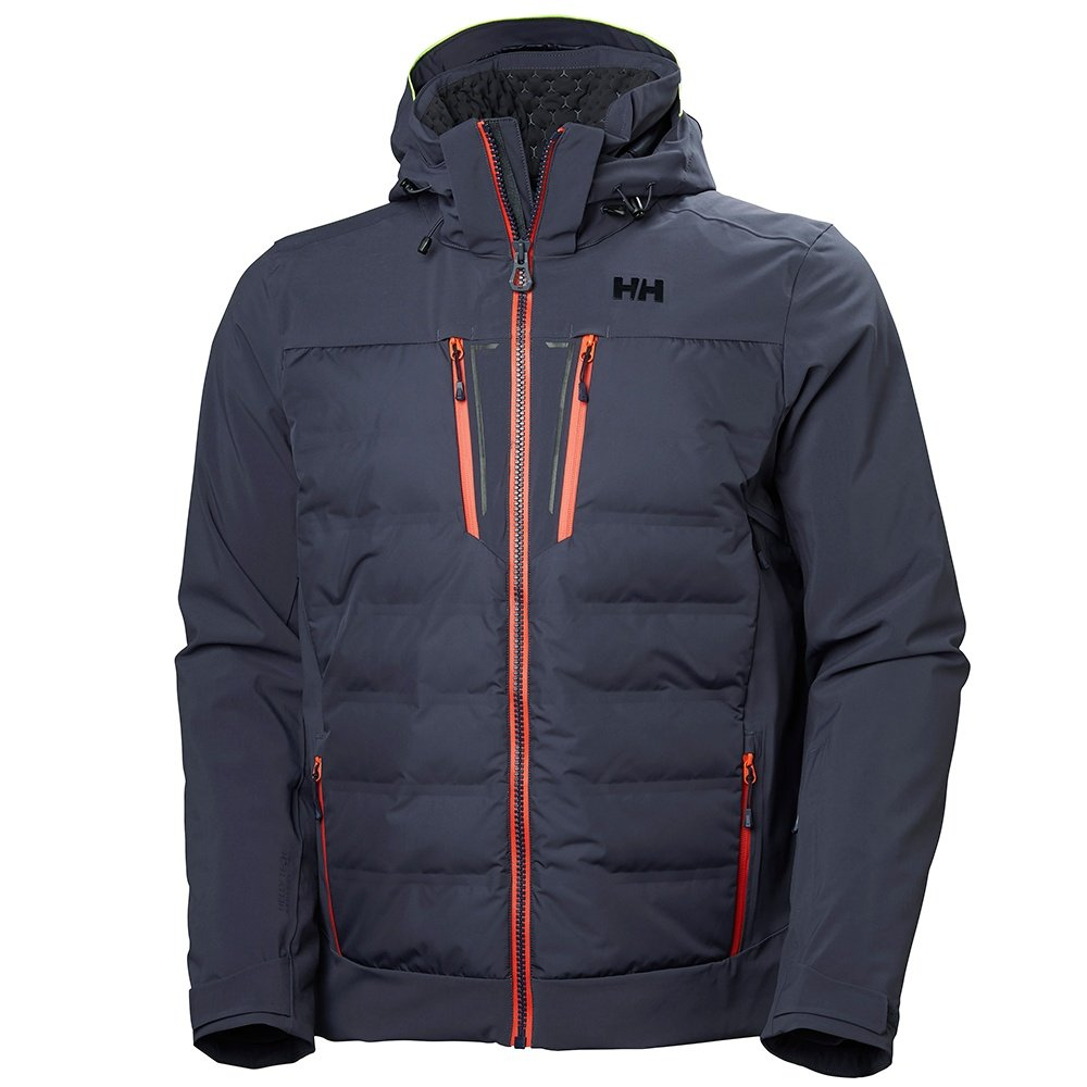 Helly Hansen Freefall Insulated Ski Jacket (Men's) - Graphite Blue