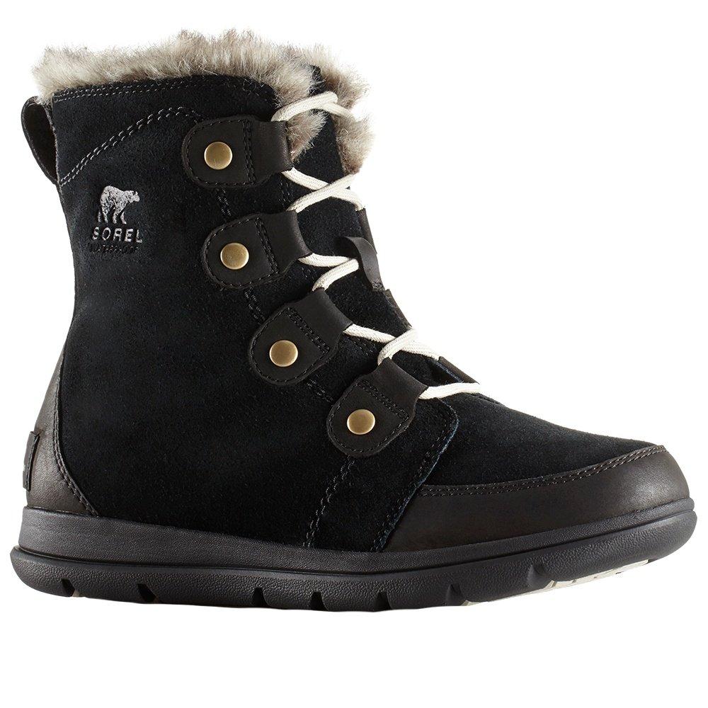 Sorel Explorer Joan Boot (Women's) - Black/Dark Stone