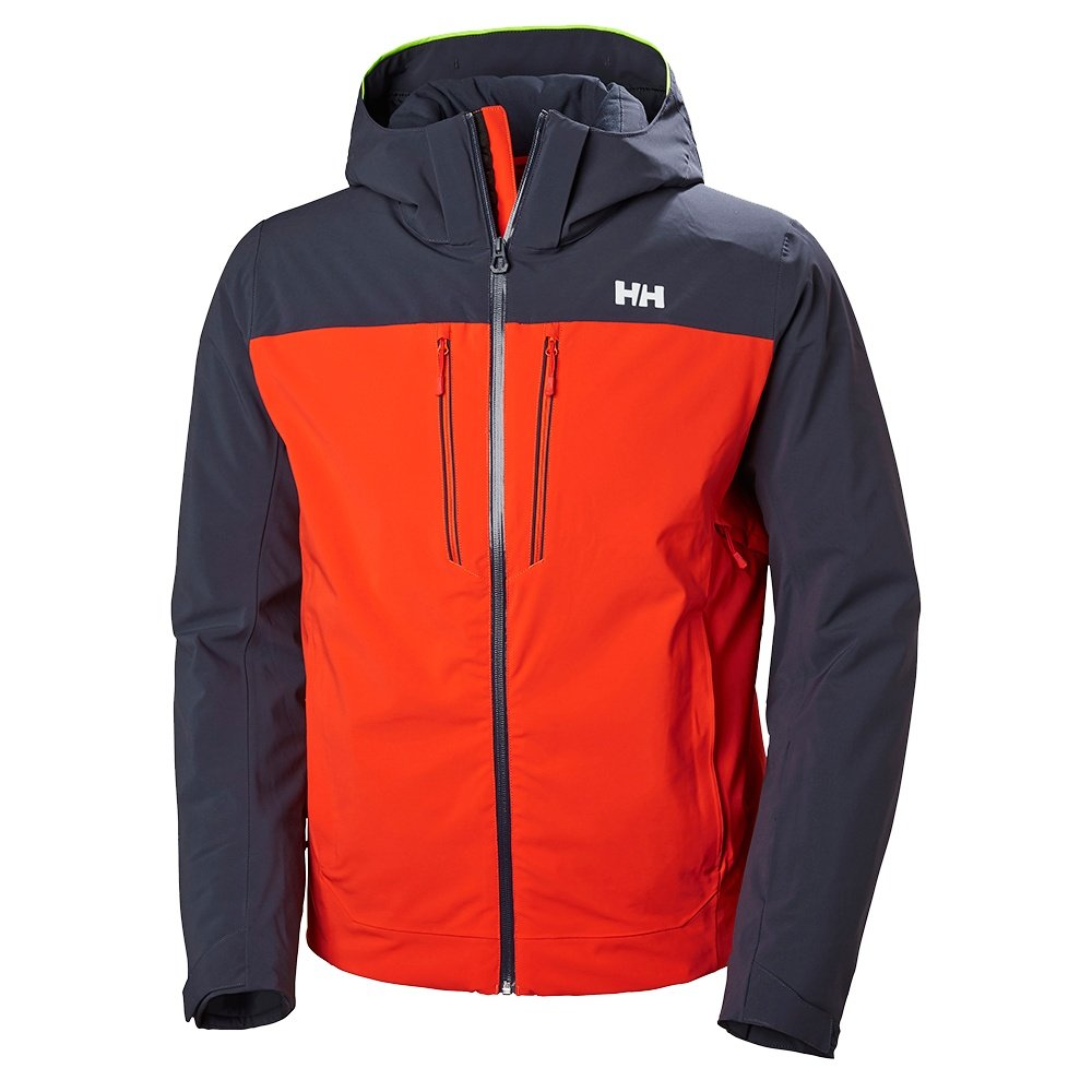 Helly Hansen Signal Insulated Ski Jacket (Men's) - Grenadine