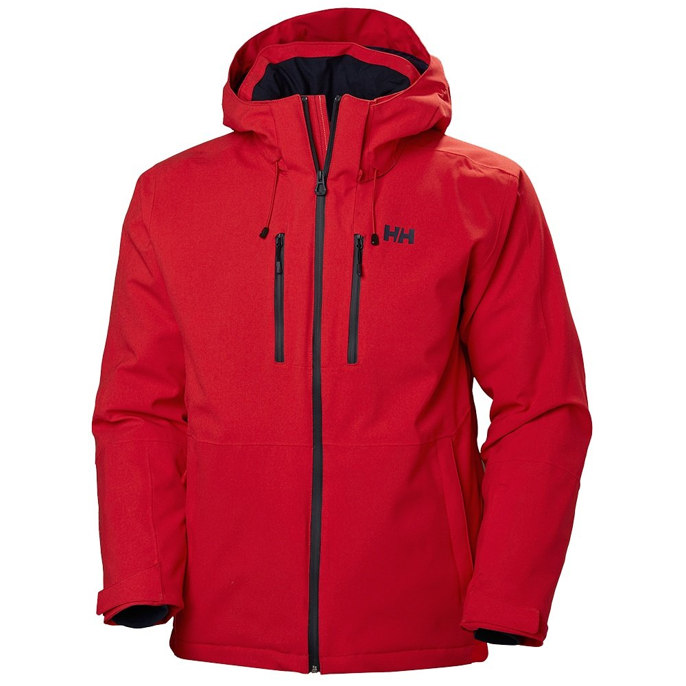 Helly Hansen Juniper 3.0 Insulated Ski Jacket (Men's) - Alert Red