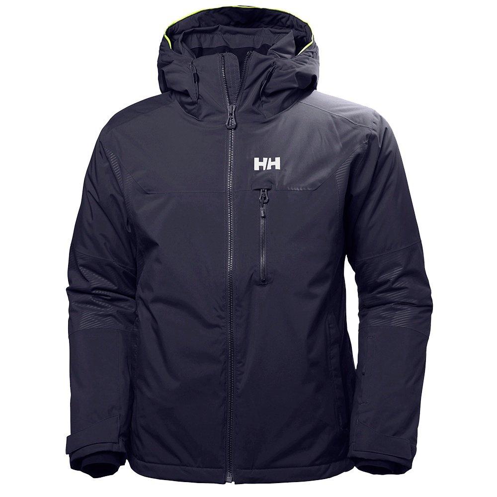 Helly Hansen Double Diamond Insulated Ski Jacket (Men's) - Graphite Blue