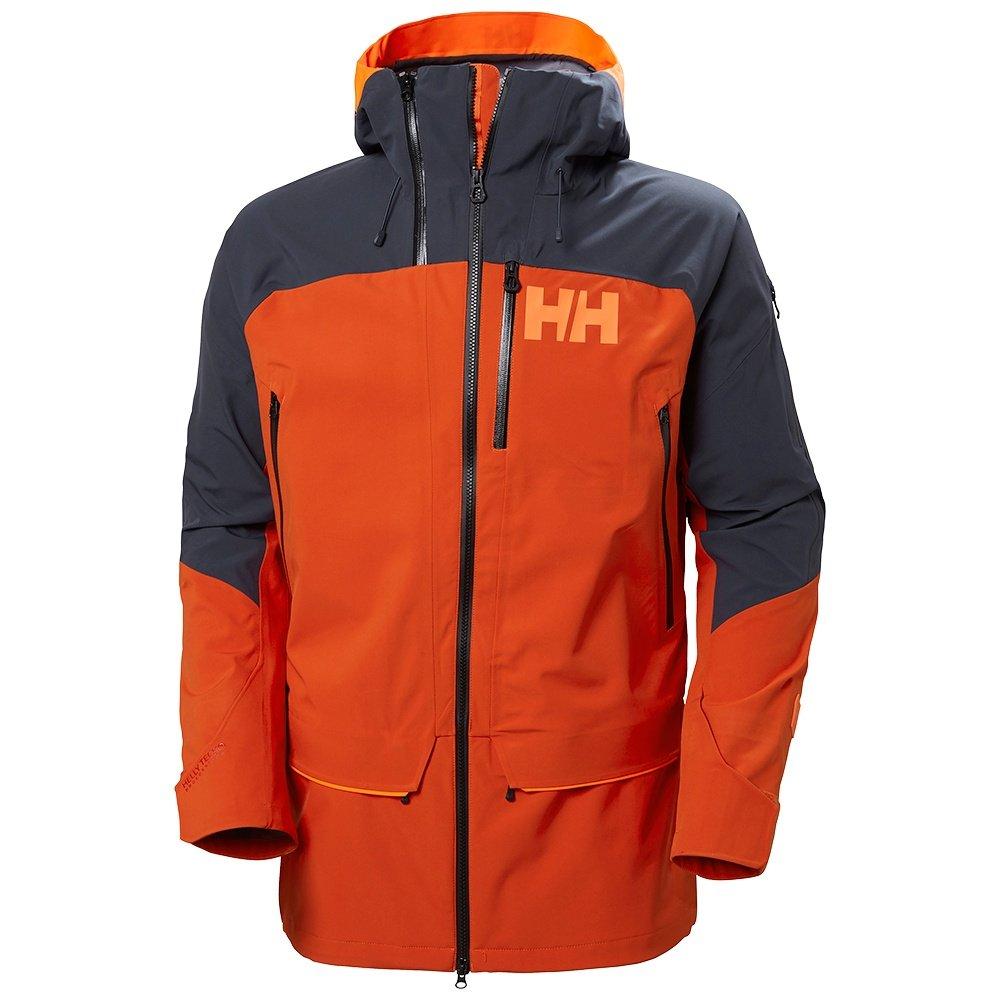 Helly Hansen Ridge 2.0 Shell Ski Jacket (Men's) - Patrol Orange