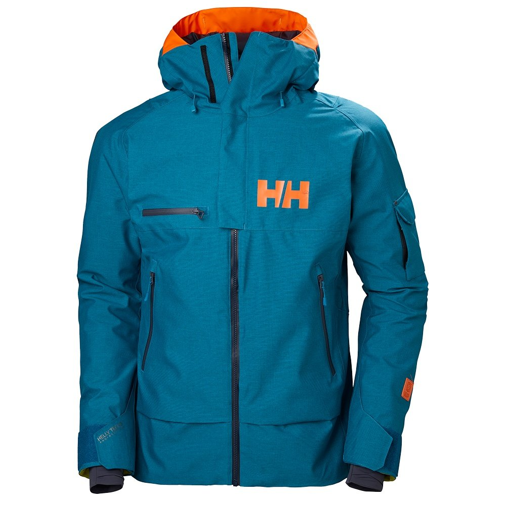 Helly Hansen Garibaldi Shell Ski Jacket (Men's) - Celestial