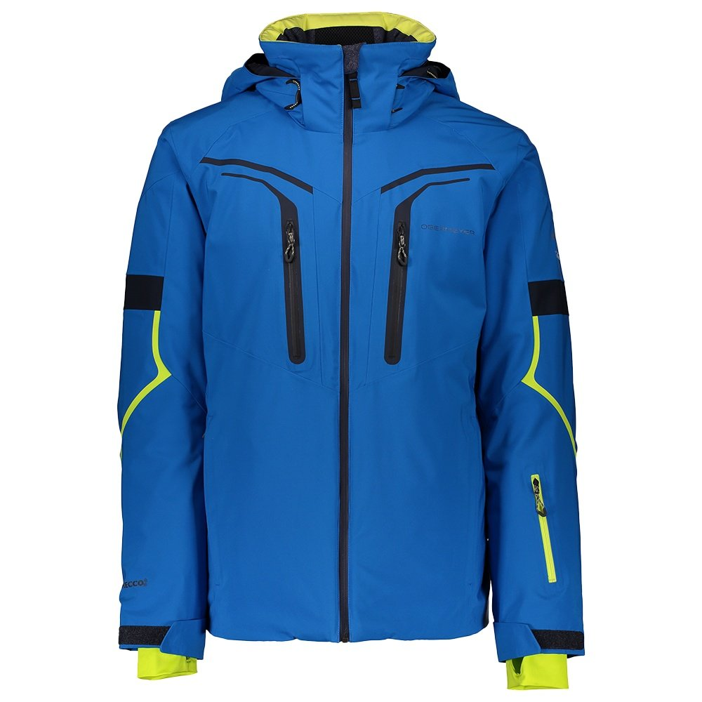 Obermeyer Charger Insulated Ski Jacket (Men's) - East Wind Blue