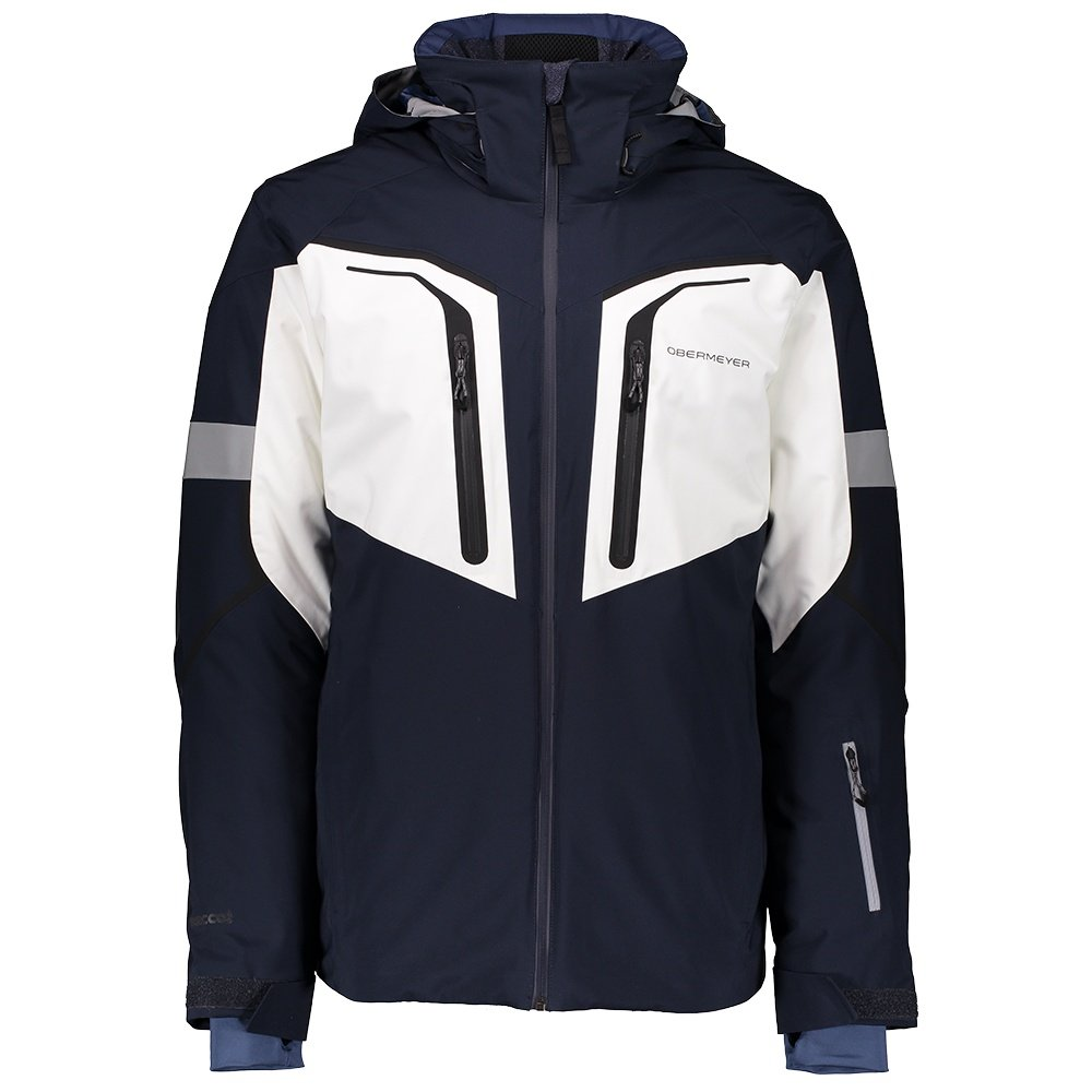 Obermeyer Charger Insulated Ski Jacket (Men's) - Nocturnal Blue