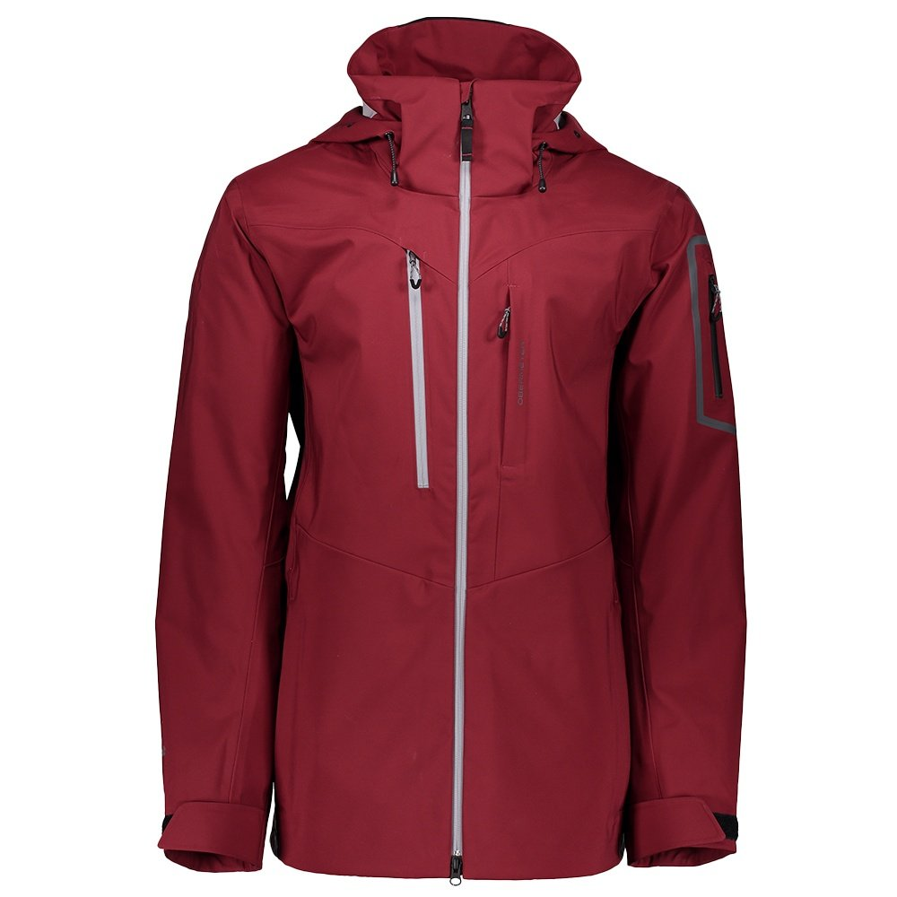Obermeyer Foraker Shell Ski Jacket (Men's) - Major Red