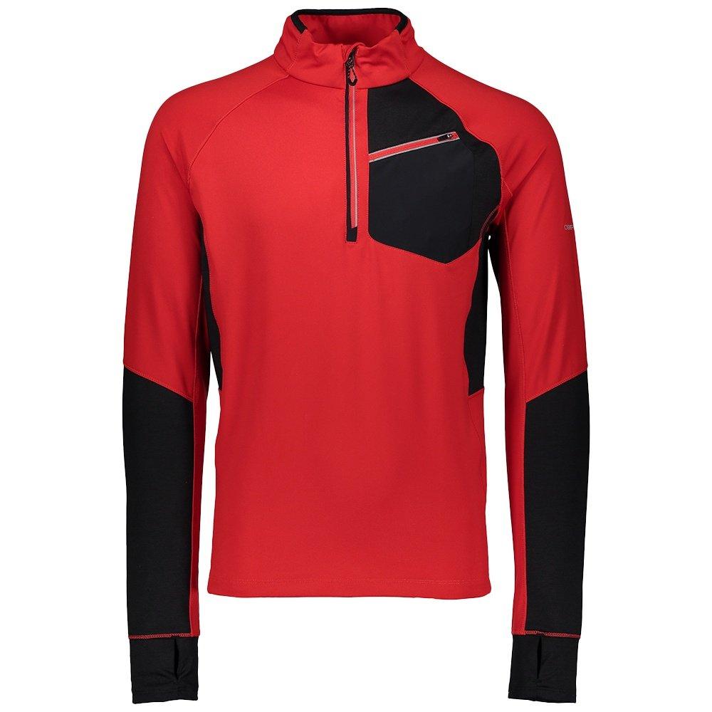 Obermeyer Flex 1/4-Zip Turtleneck Mid-Layer (Men's) - Volcanic Red