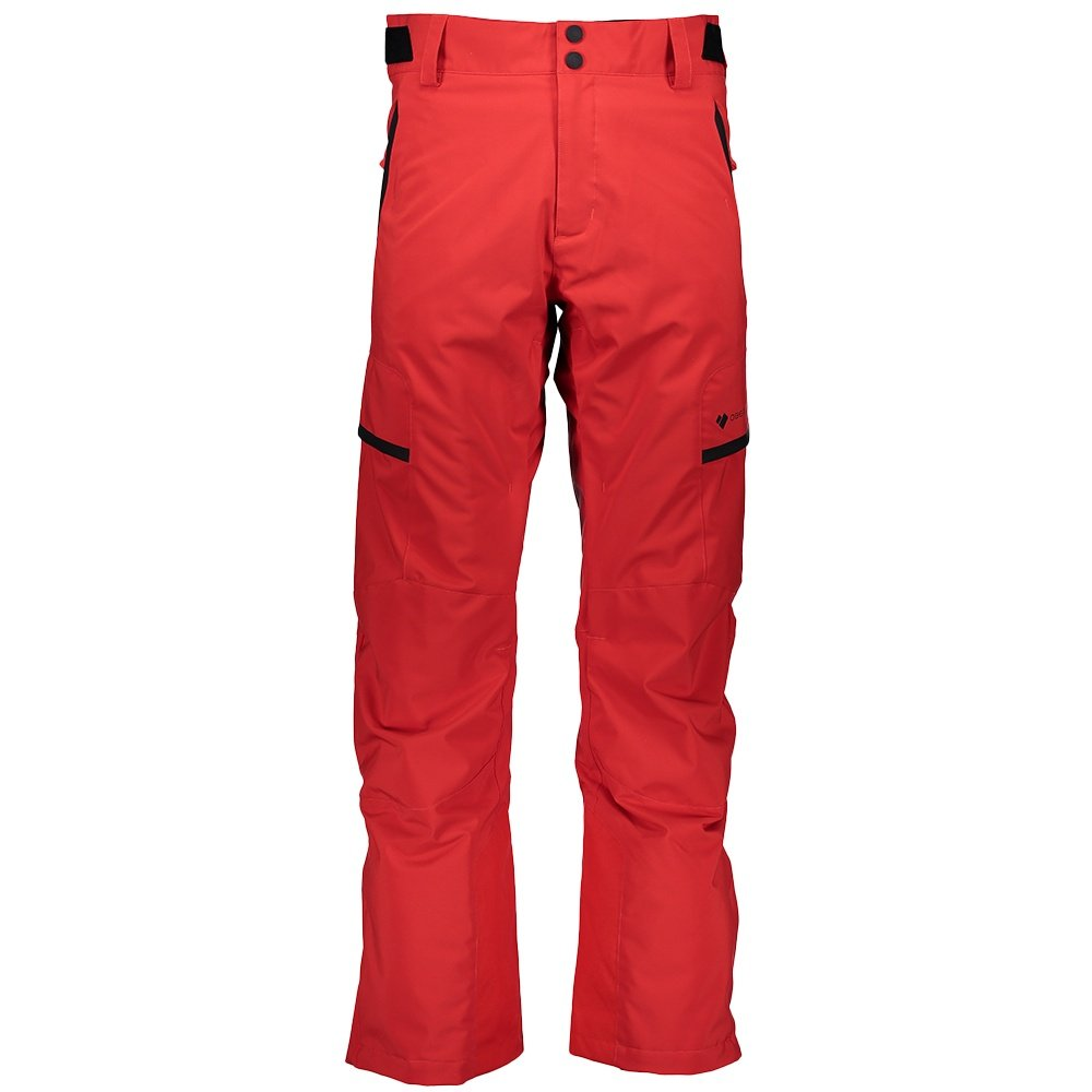 Obermeyer Orion Insulated Ski Pant (Men's) - Volcanic Red