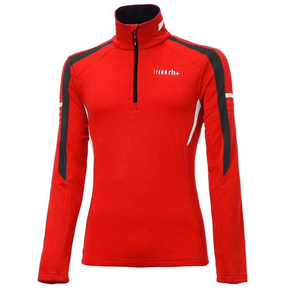 Rh+ Portillo Jersey Turtleneck Mid-Layer (Men's) - Red/Black/White