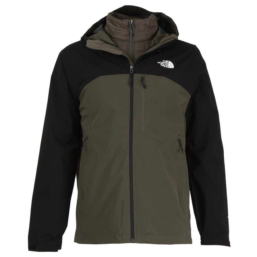The North Face Thermoball Triclimate Ski Jacket (Men's) - New Taupe Green/Black