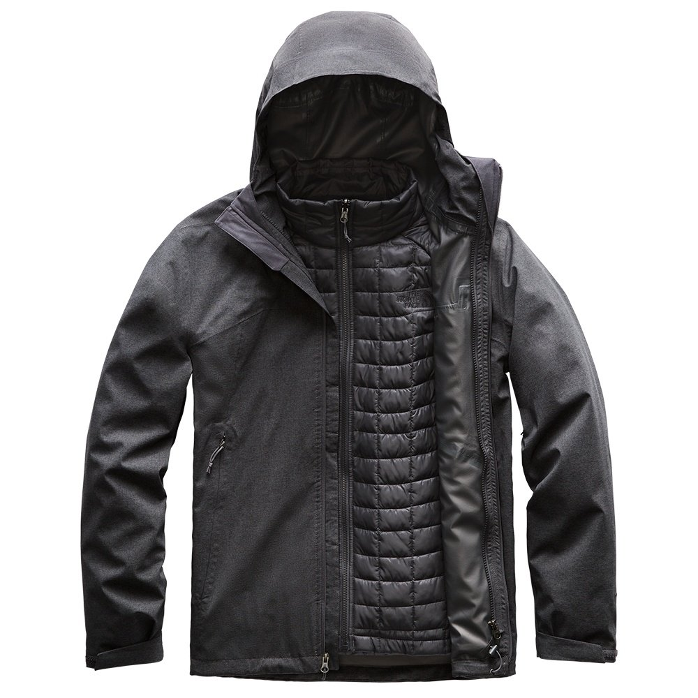 The North Face Thermoball Triclimate Ski Jacket (Men's) - TNF Dark Grey Heather
