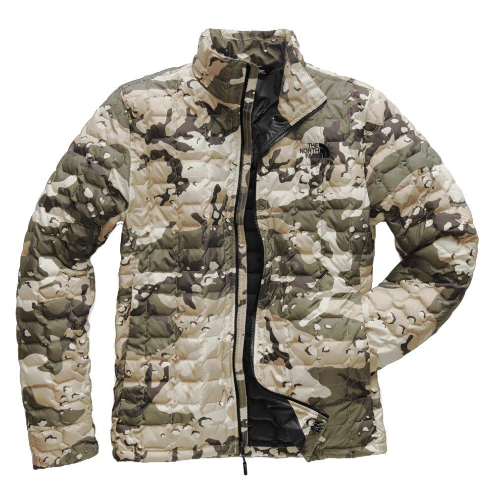 The North Face Thermoball Jacket (Men's) - Peyote Beige Woodchip Camo Print