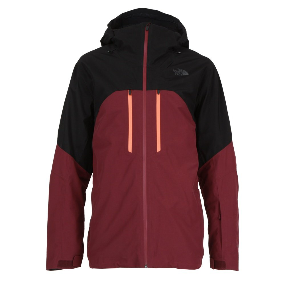 The North Face Powder Guide GORE-TEX Insulated Ski Jacket (Men's) - TNF Black/Fig